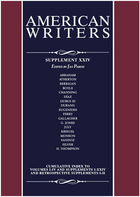 American Writers, Supplement 24