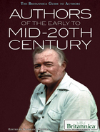 Authors of the Early to Mid-20th Century, ed. , v.