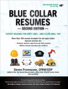 Blue Collar Resumes, ed. 2, v.