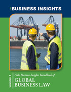 Gale Business Insights Handbook of Global Business Law, ed. , v.