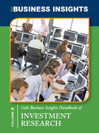 Gale Business Insights Handbook of Investment Research, ed. , v.