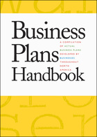 Business Plans Handbook, ed. , v. 13 Cover