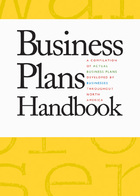 Business Plans Handbook, ed. , v. 16 Cover