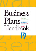 Business Plans Handbook, ed. , v. 19 Cover