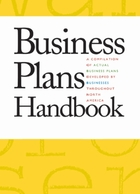 Business Plans Handbook, v. 29 Cover