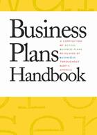 Business Plans Handbook, ed. , v. 30 Cover
