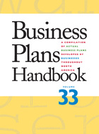 Business Plans Handbook, v. 33 Cover