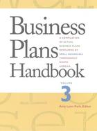 Business Plans Handbook, ed. , v. 3 Cover