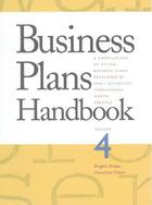 Business Plans Handbook, ed. , v. 4 Cover