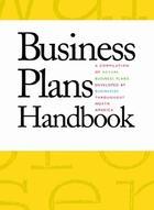 Business Plans Handbook, ed. , v. 9 Cover