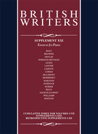 British Writers, Supplement 21, ed. , v.