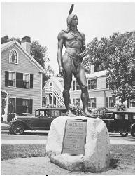 Portrait: Massasoit. Reproduced by permission of The Library of Congress.