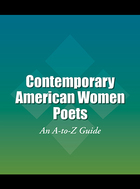 Contemporary American Women Poets, ed. , v.