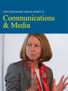 Contemporary Biographies In Communications & Media, ed. , v.