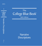 The College Blue Book, ed. 36