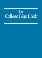 The College Blue Book, ed. 41