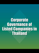 Corporate Governance of Listed Companies in Thailand