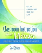 Classroom Instruction that Works, ed. 2, v.