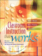 Classroom Instruction That Works, ed. , v.