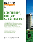 Career Opportunities in Agriculture, Food, and Natural Resources, ed. , v.