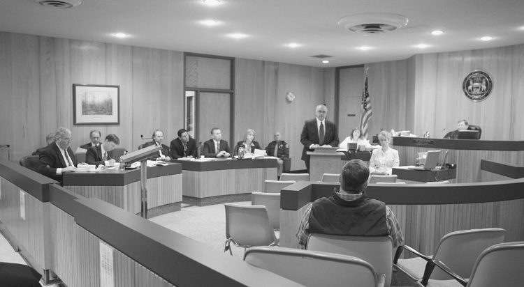 Attorney Questions Prospective Jurors