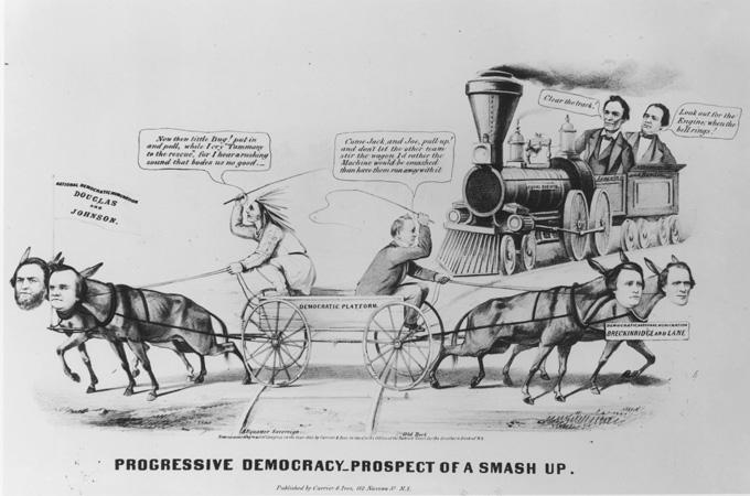 1860 Democratic Party Split