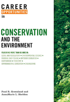 Career Opportunities in Conservation and the Environment Cover