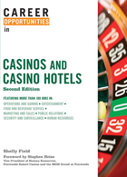 Career Opportunities in Casinos and Casino Hotels, ed. 2, v.  Cover