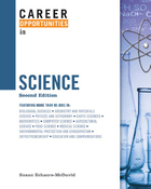 Career Opportunities in Science, ed. 2 Cover
