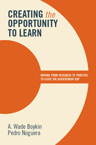Creating the Opportunity to Learn, ed. , v.