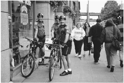 A major change in policing brought back practices of the nineteenth century, such as the use of foot as well as bike patrols. Known as community policing, police began to partner with community members to prevent crime and increase the chances