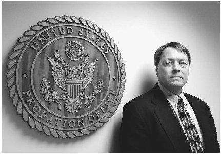 Rich Crawford, North Dakota chief federal probation officer. Probation is the most common form of correctional punishment for criminal activity, allowing an offender to stay within the community under the supervision of a probation officer. (AP