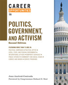 Career Opportunities in Politics, Government, and Activism, ed. 2, v.