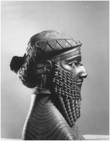 This bronze bust of Sargon of Akkad was discovered in the city of Nineveh