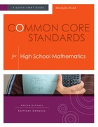Common Core Standards for High School Mathematics, ed. , v.
