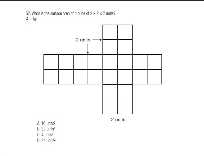 FIGURE 7.5 Common Assessment Item of Concern, 5th Grade