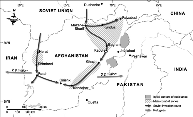 Soviet Invasion of Afghanistan, 1979