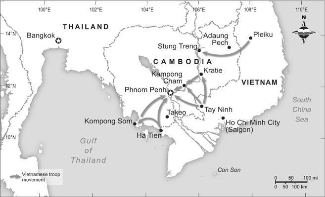 Vietnamese Invasion of Cambodia, 1978