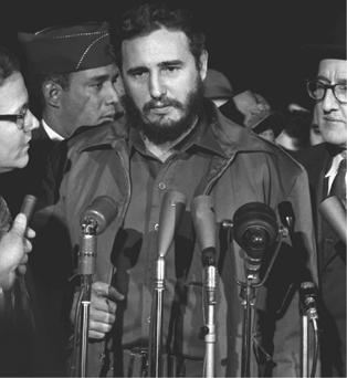 Cuban leader Fidel Castro, 1959.