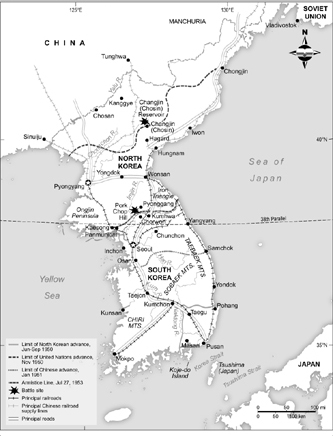 KOREAN WAR, 19501953