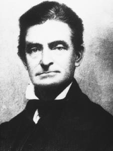 John Brown. The radical abolitionist, whose violent tactics horrified most Southerners and alienated even many antislavery advocates—until the Civil War, when Brown, who had been executed in 1859 for treason, was widely regarded as a martyr in the North. NATIONAL ARCHIVES AND RECORDS ADMINISTRATION