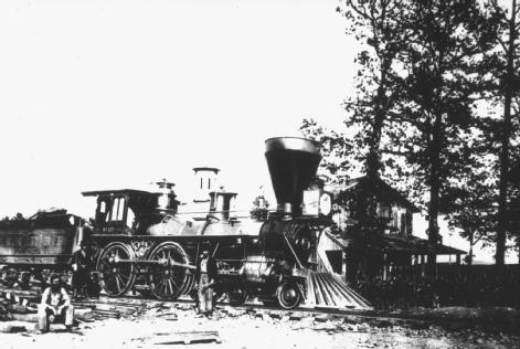 U.S. Military Railroads Engine no. 137. One of the engines (built in 1864) that served a vital function in the Civil War, taking troops and supplies where they were needed—which made key railroad junctions and tracks the strategic targets of military attack and sabotage. NATIONAL ARCHIVES AND RECORDS ADMINISTRATION