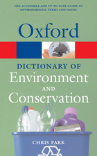 A Dictionary of Environment and Conservation, ed. , v.