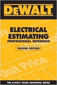 DeWALT Electrical Estimating, ed. 2, v.