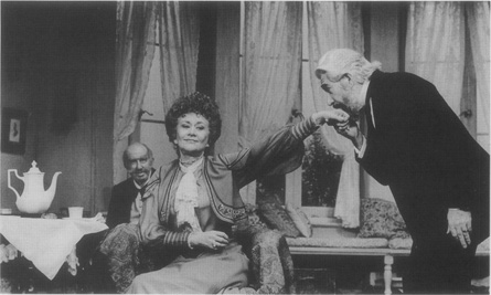A scene from Londons Theatre Royal Haymarket 1983 production