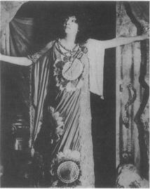 Legendary actress Sarah Bernhardt as Medea