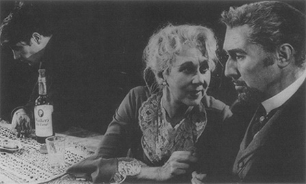 A scene from the 1958 production at the Aldwych Theatre in London