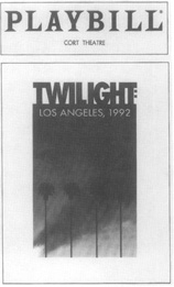 A playbill from the Cort Theatre for Smiths play