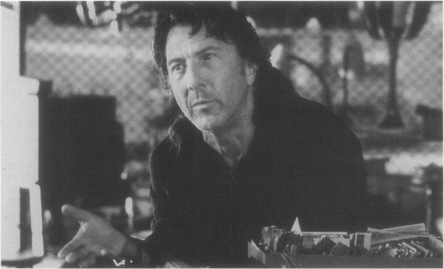 Dustin Hoffman as Teach in a scene from the film adaptation