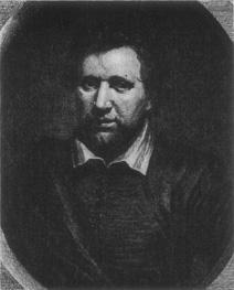 A portrait of Ben Jonson